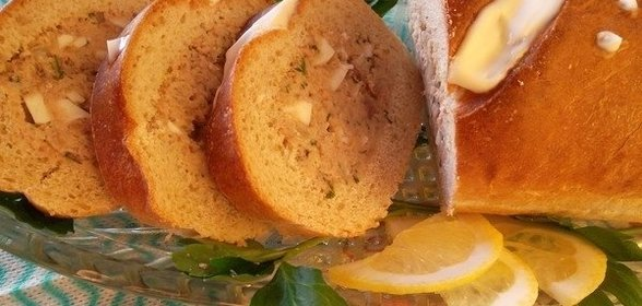 Запеченный батон с начинкой рецепт с пошагово в духовке