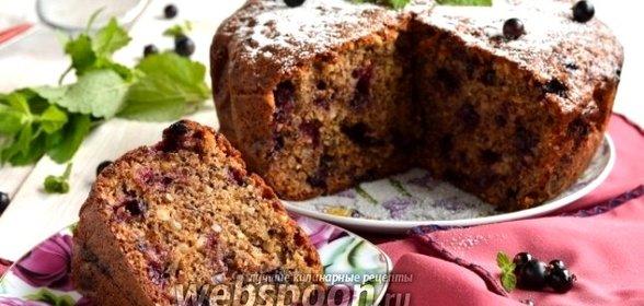 Пирог с черной смородиной рецепт пошаговый рецепт
