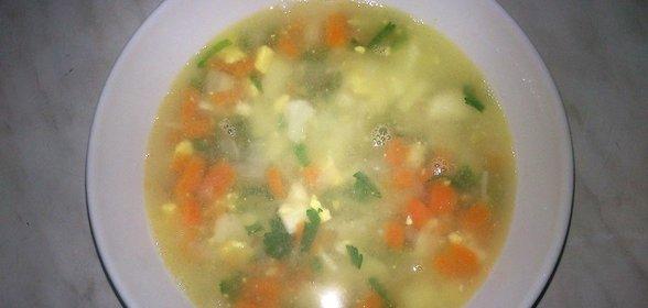 Куриный овощной суп рецепт пошагово