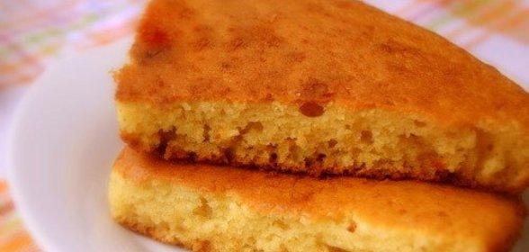 Пирога на сметане с фото пошагово