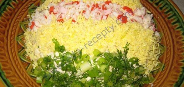 Простые салаты в пост рецепты простые рецепты