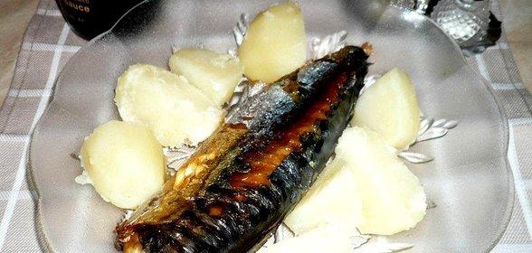 Рецепт скумбрии жареной с фото