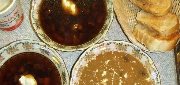 Гриб сухой рецепты пошагово