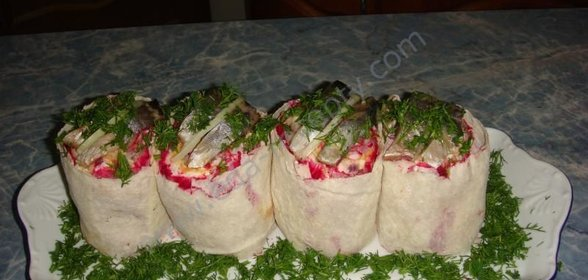 Салат шуба без лука рецепт
