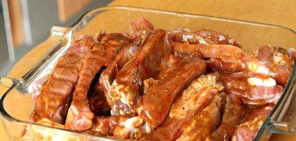 Соевое мясоы шашлыка