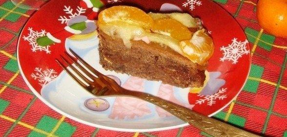 Пирог бисквитный рецепт с пошагово в домашних