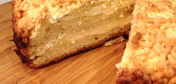 Простой творожный пирог рецепт с фото