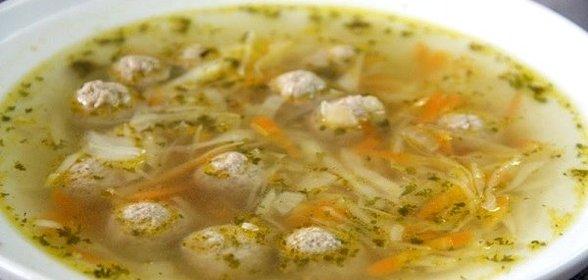 суп с фрикадельками и томатом пошаговый рецепт