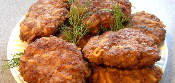 Вкусные котлеты из фарша с рисом рецепт пошагово
