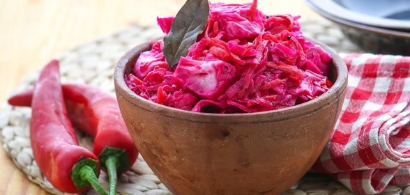 Рецепты квашеной капусты с свеклой