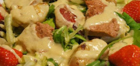 Салаты с морским гребешком рецепты простые и вкусные