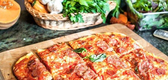 Дрожжевая пицца пошагово