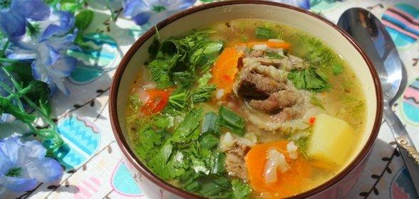 Вкусный суп с бараниной рецепт пошагово