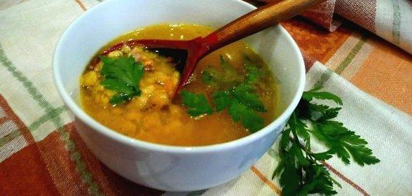 Суп с гороховый рецепт с пошагово в