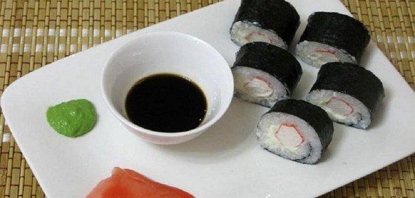 Суши с имбирем в домашних условиях рецепт с пошагово с