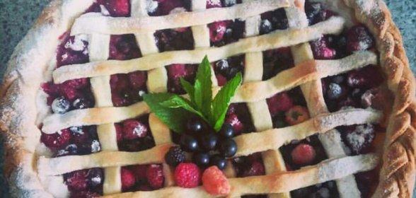 Песочное тесто для пирога с ягодами рецепт пошагово