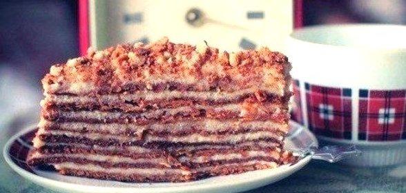 Рецепт торта рыжик с заварным кремом в домашних условиях пошагово