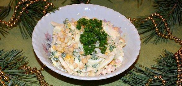 Салаты рецепты с морской бриз