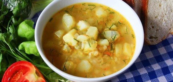 Как приготовить куриный суп с картошкой пошаговый рецепт
