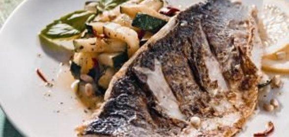 Рецепт жареной рыбы домашнем