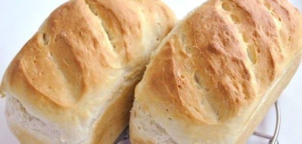 Рецепт белого хлеба в духовке с фото