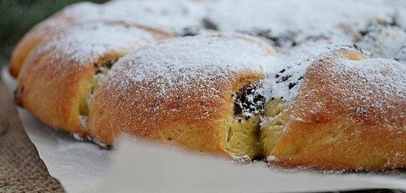 Пирог дрожжевой с маком рецепт с пошагово