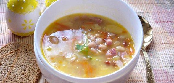 Фасолевый суп рецепт пошагово с фото
