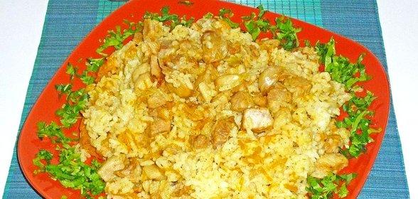 Плов с круглым рисом рецепт с фото