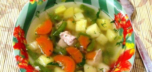 Мясной суп пошаговый рецепт с