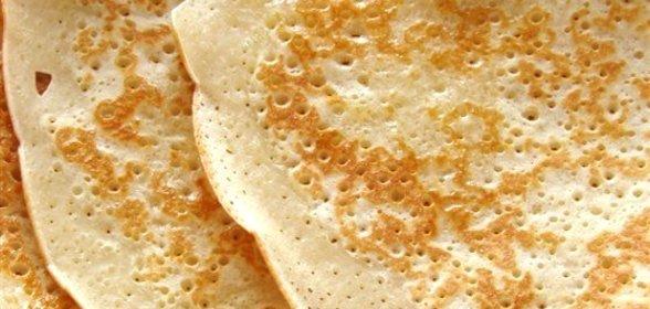 Блины пошагово рецепт с фото на воде