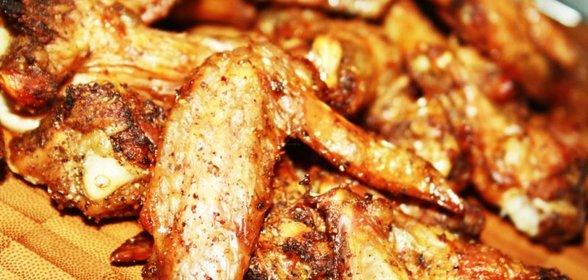 Крылышки хрустящие рецепт пошагово с