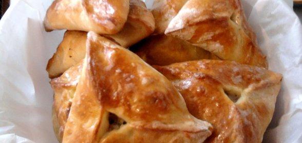 Треугольники с картошкой рецепт с фото