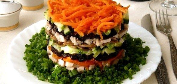 Салат обжорка рецепты с