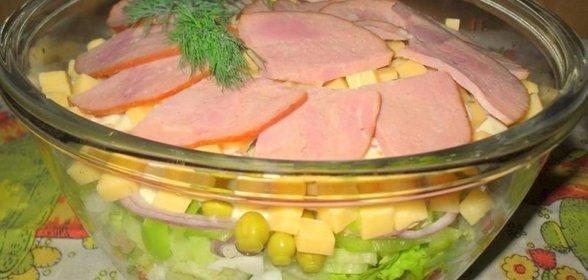 Домашние салаты на день рождения простые и вкусные