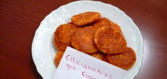 Морковные биточки рецепт с фото пошагово