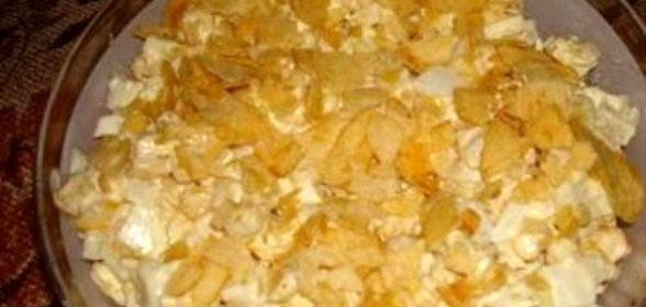 Салат из чипсов простой рецепт