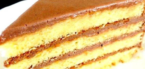Вкусный шоколадный торт с шоколадным кремом рецепт