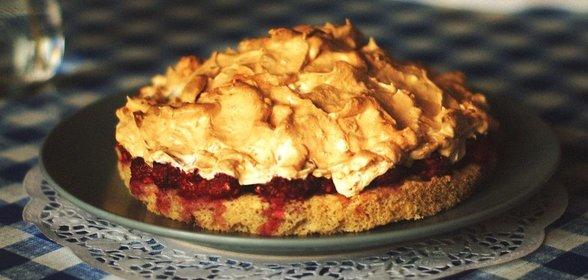 ягодный пирог безе рецепт-хв4