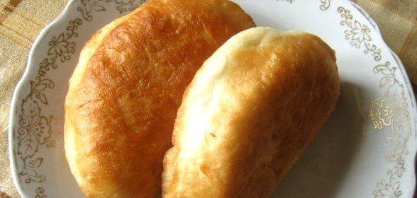 Рецепты постных жареных пирожков
