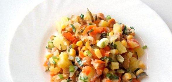 Салат дарья рецепт пошагово