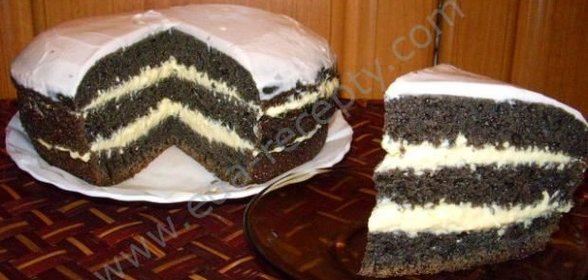 Торт черемуховый рецепт с фото пошагово в домашних условиях